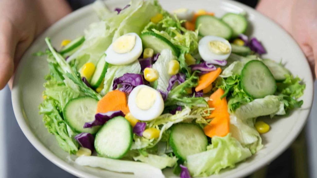 Healthy salad in Metairie LA